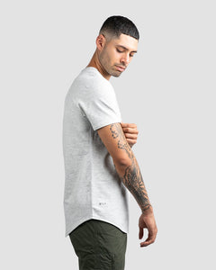 Light Heather Grey - Drop-Cut LUX Shirt