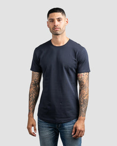 Navy - Drop-Cut LUX Shirt