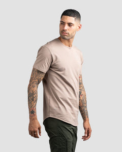 Sand - Drop-Cut LUX Shirt