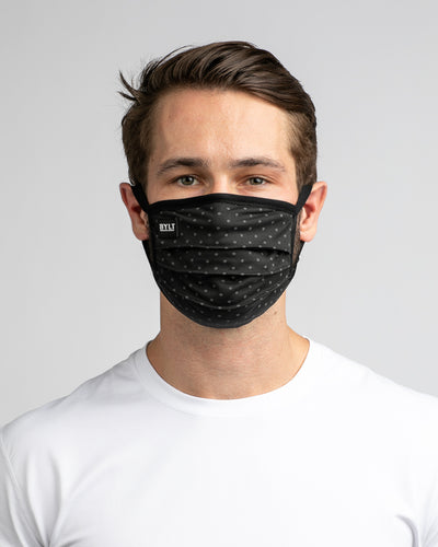 Phantom Mask Black / Charcoal Dotted - Phantom Mask