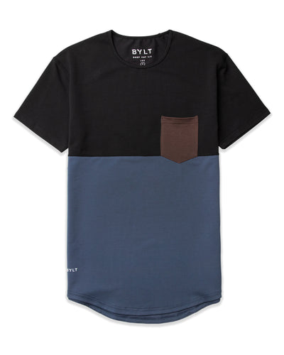 Drop-Cut: LUX Pocket <!-- Size XXL --> Black Midnight Chocolate