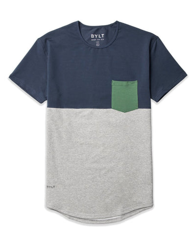 Drop-Cut: LUX Pocket <!-- Size XXL --> Midnight Grey Pine