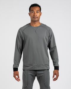 Gunmetal - Elite+ Crewneck Sweatshirt