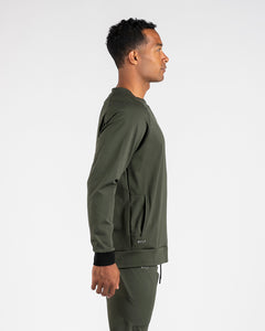 Dark Olive - Elite+ Crewneck Sweatshirt