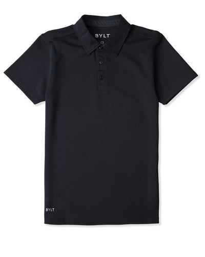 Tech Polo (FINAL SALE) Black