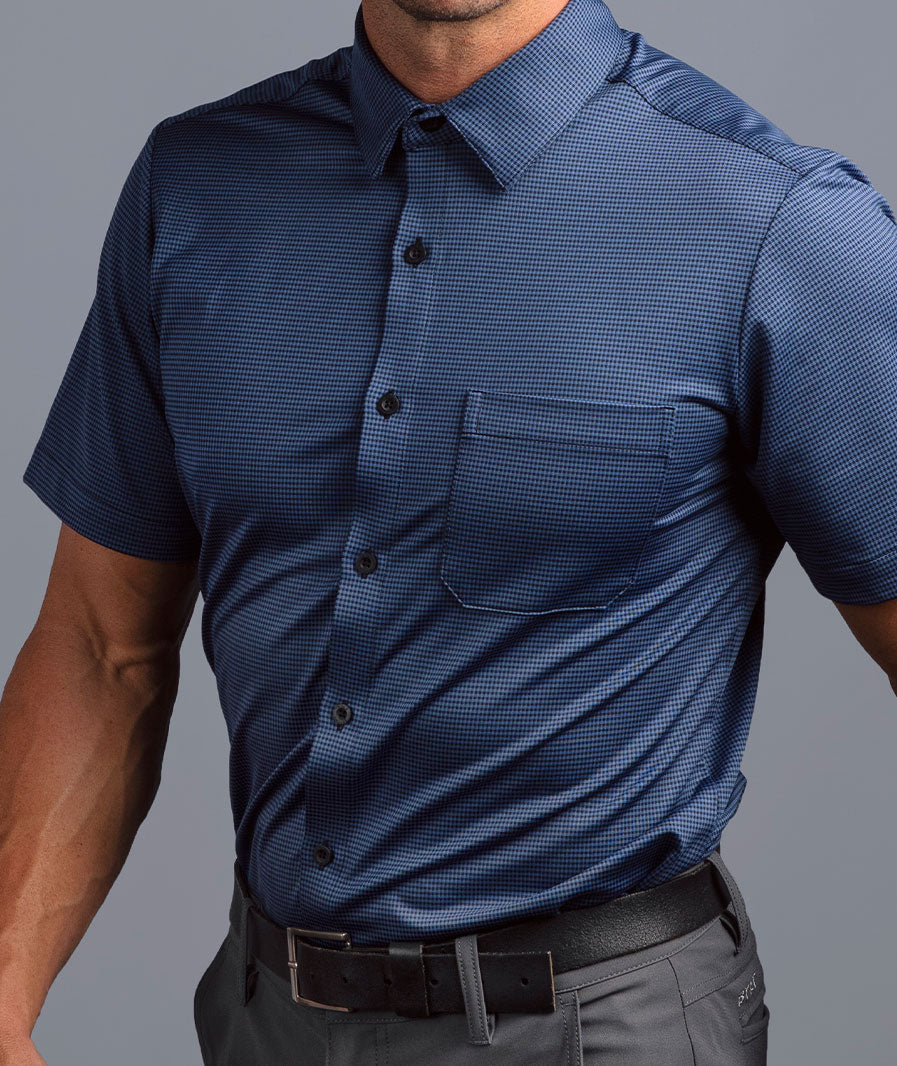 The Executive Drop-Cut Short Sleeve