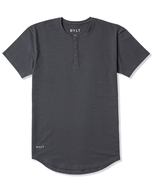 Henley Drop-Cut Shirt