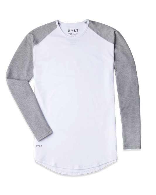 Baseball Drop-Cut Long Sleeve