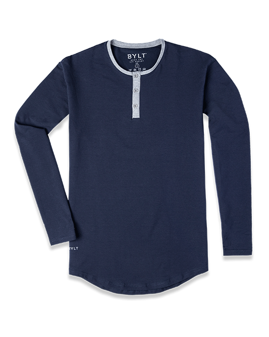 Henley Drop-Cut LUX: Accent
