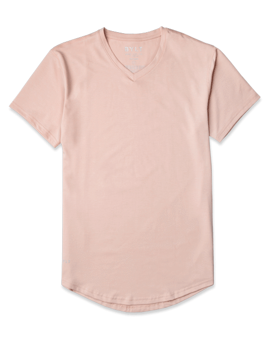 Drop-Cut V-Neck Shirt