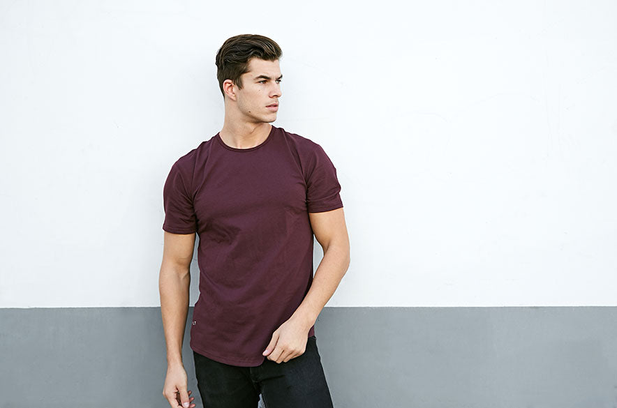 Drop-Cut Short Sleeve LUX