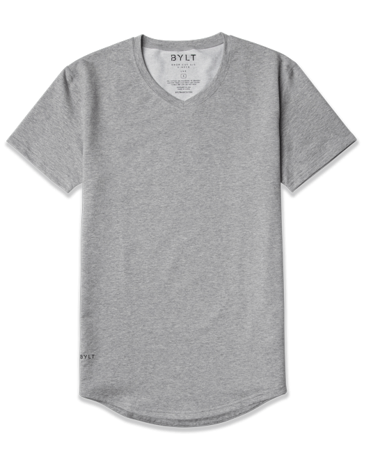 Drop-Cut V-Neck: LUX