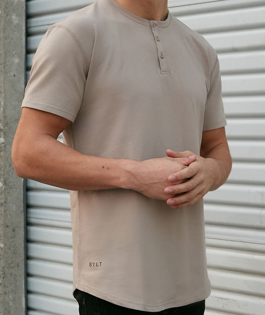 Henley Drop-Cut