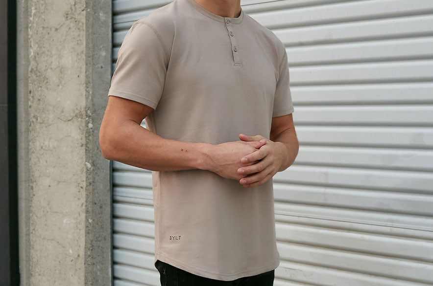 Henley Drop-Cut LUX