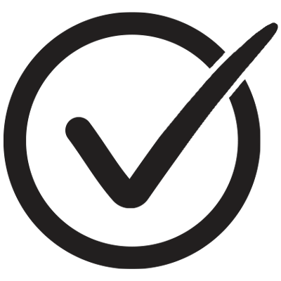 BYLT Checkmark with circle