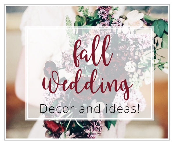 Fall Wedding Ideas - Stationery and decor!