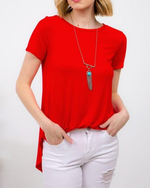 Everyday Red Top For Women