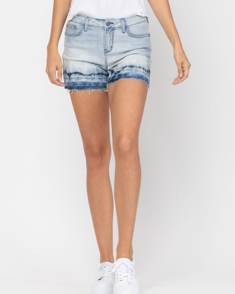 Judy Blue Ombre Tie Dye Shorts For Women