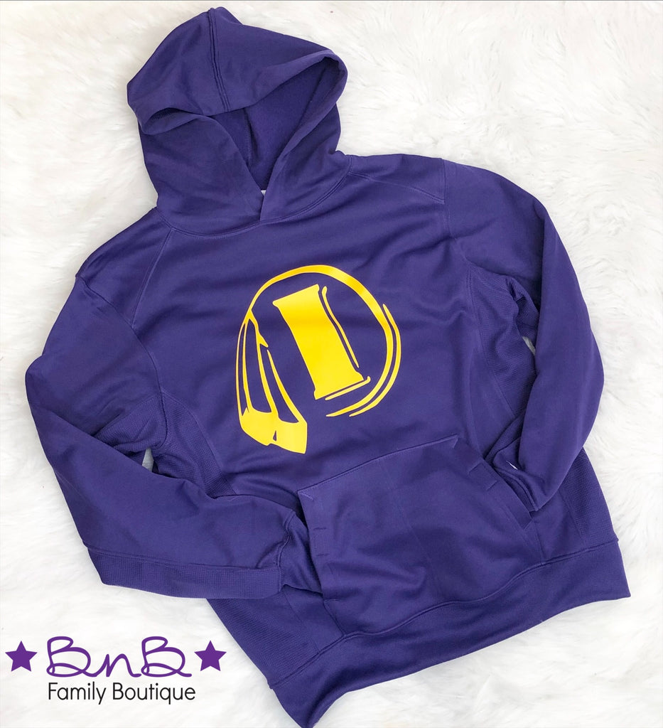 Indianola Logo Hooded Sweatshirt - Unisex Youth