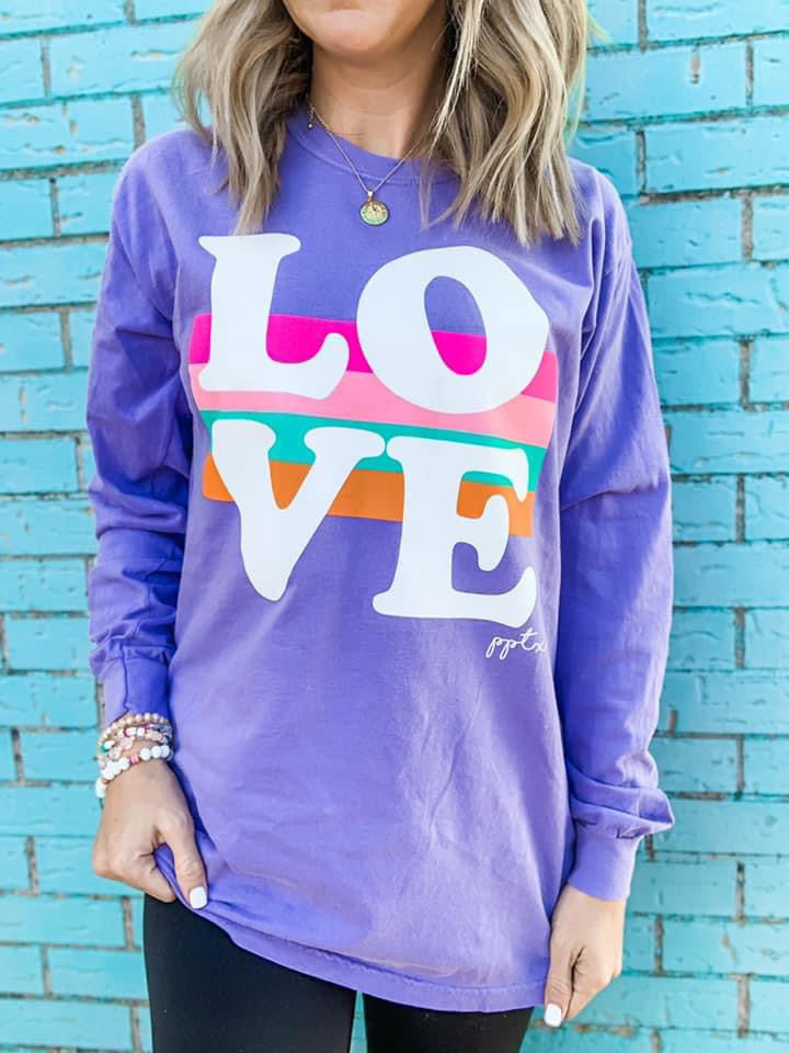 Big LOVE Top For Women
