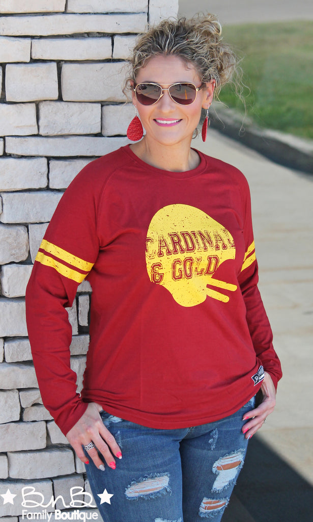 ISU: Cardinal & Gold Long Sleeve - Unisex