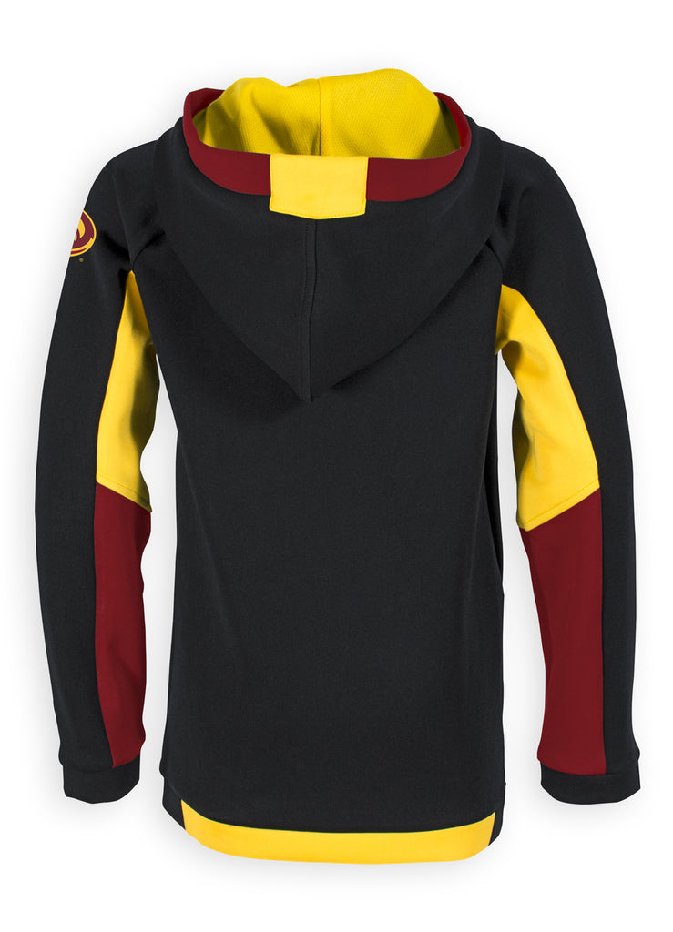 Cyclones Quarter Zip Soft-Shell Hoodie - Youth