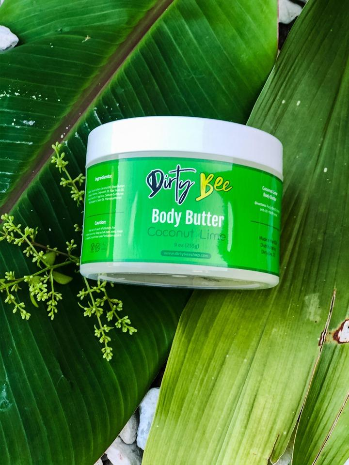 Dirty Bee Coconut Lime Body Butter