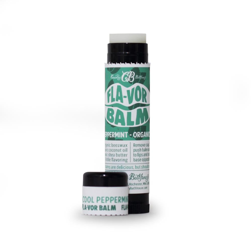 Cool Peppermint Lip Flavor Balm