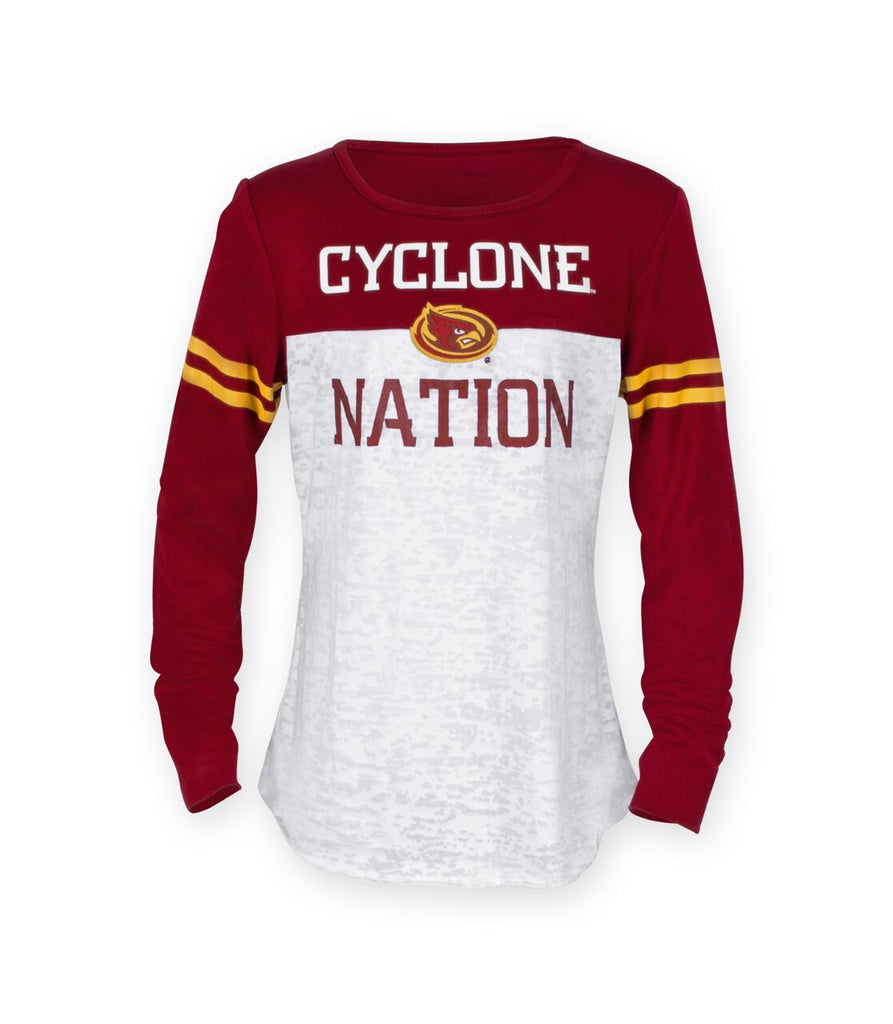 Cyclone Nation Long Sleeve Top For Youth