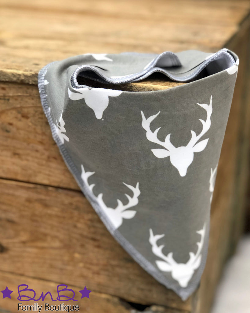 Deer Head Bandana Bib