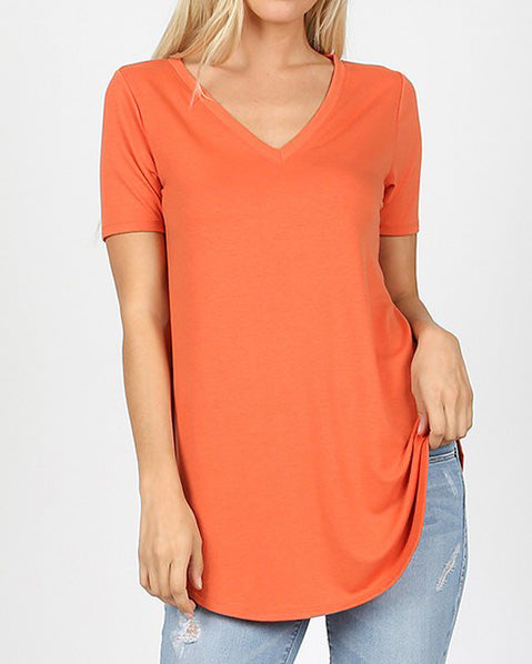 Everyday Ash Copper Essential Top For Women