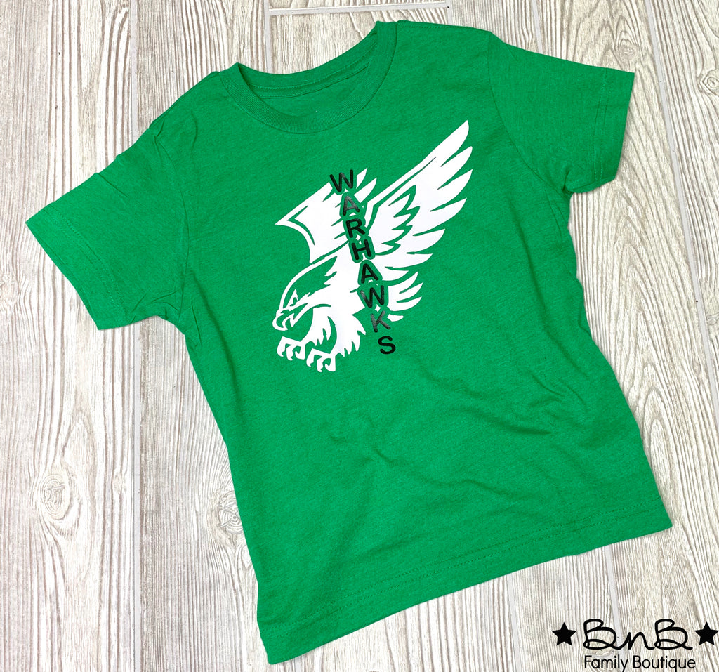 Flying High Warhawks Graphic Tee - Kids & Adult