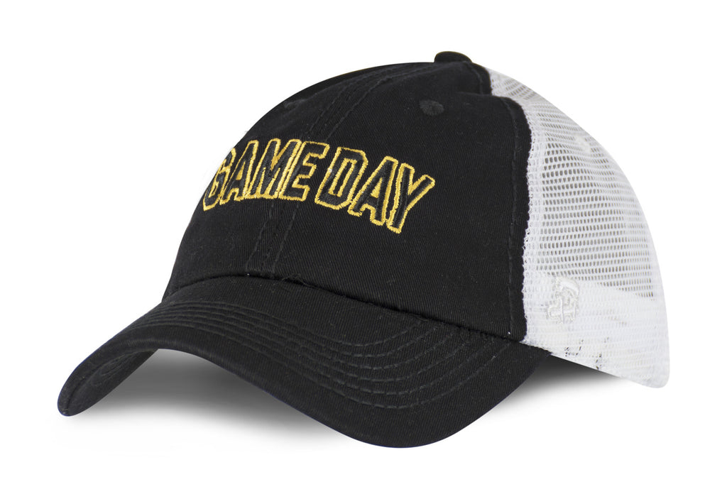 Hawkeye Game Day High Pony Trucker Hat - Women