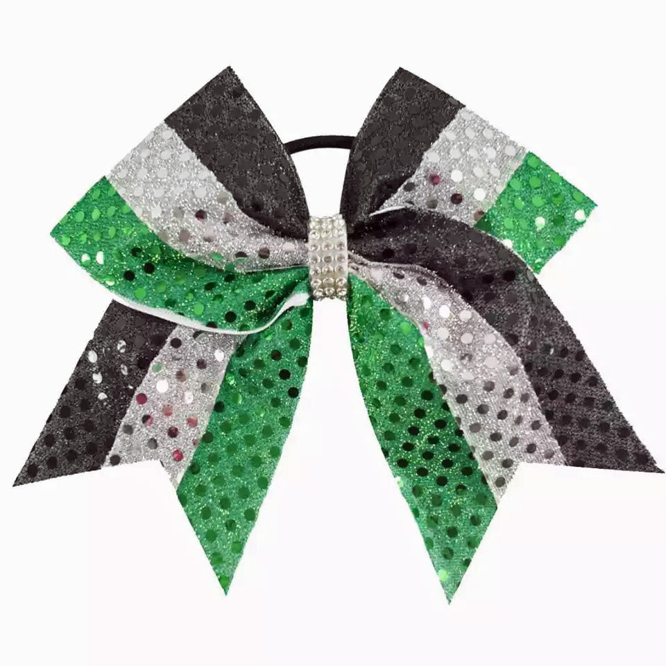 Bling It On Sequin Cheer Bow