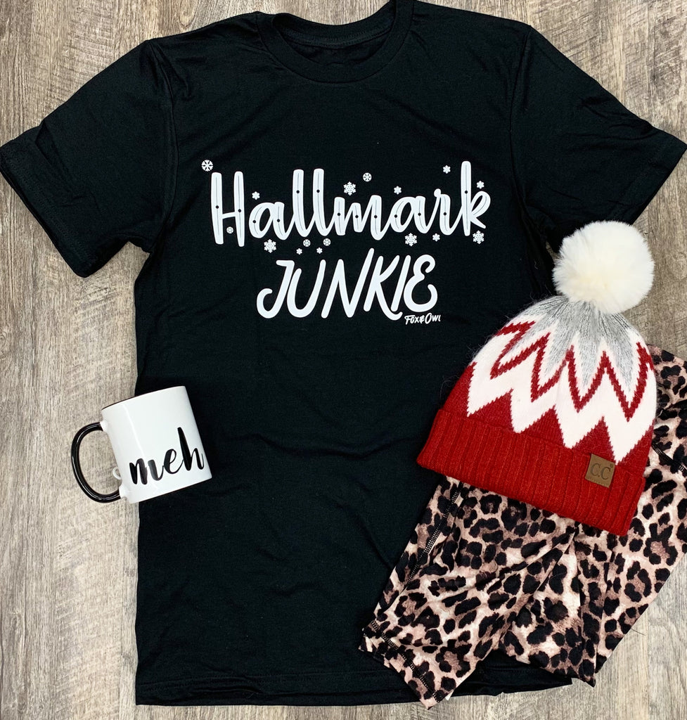 Hallmark Junkie Graphic Tee For Women