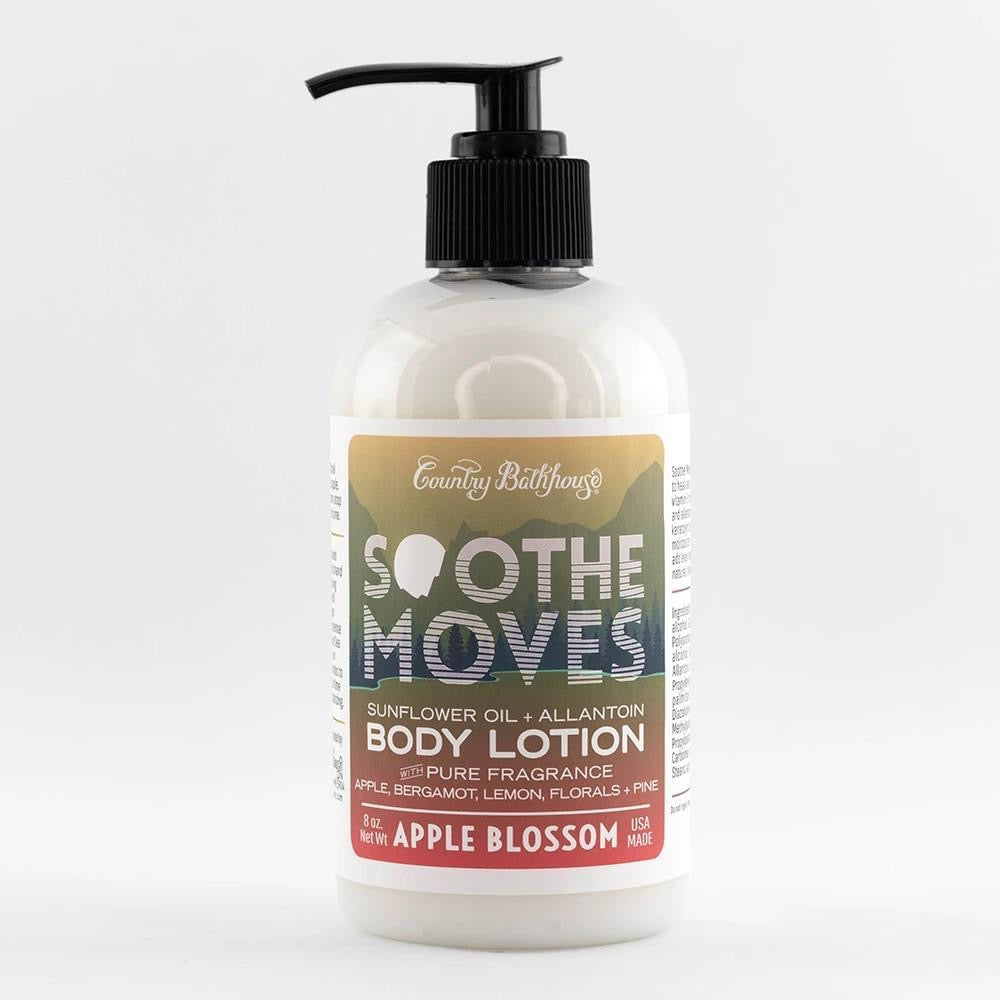 Apple Blossom Soothe Moves Body Lotion By Country Bathhouse