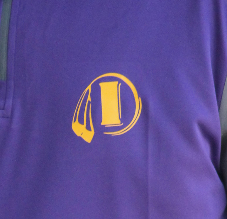 Indianola Purple Quarter Zip - Youth