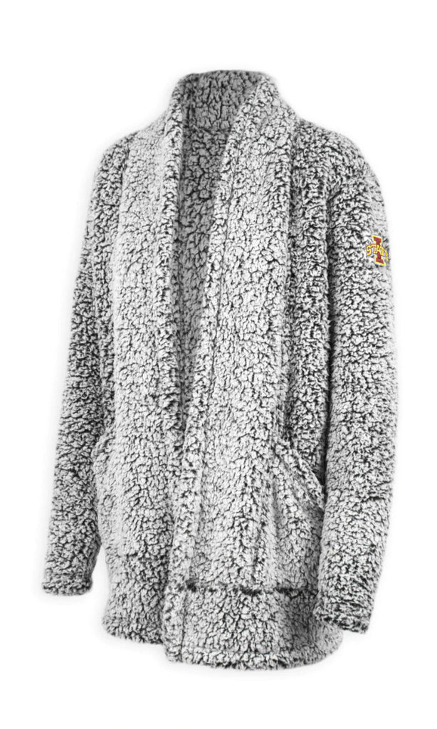 Iowa State Sherpa Wrap For Women