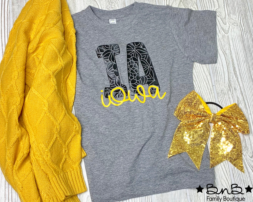 Iowa Graphic Tee - Baby / Toddler / Youth