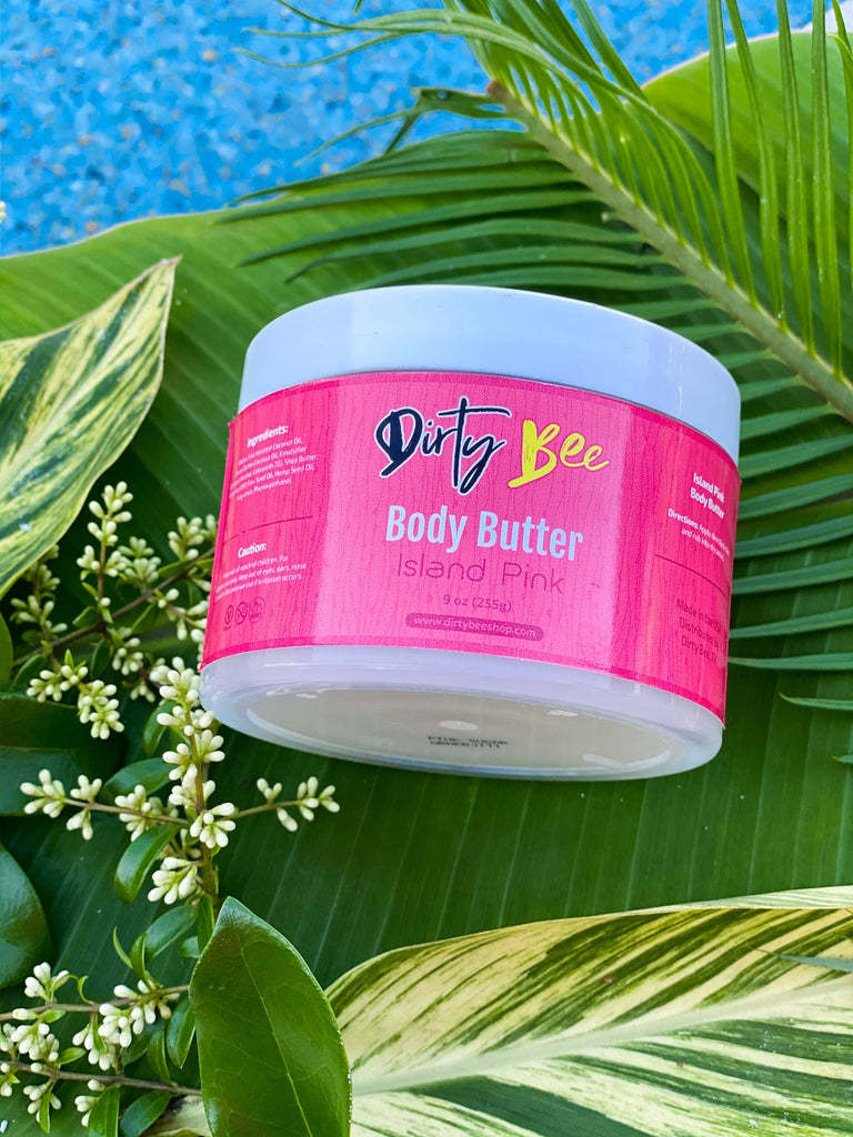 Dirty Bee Island Pink Body Butter