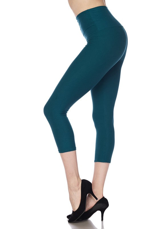"Jade Essential Capri 5"" Waistband - Women"