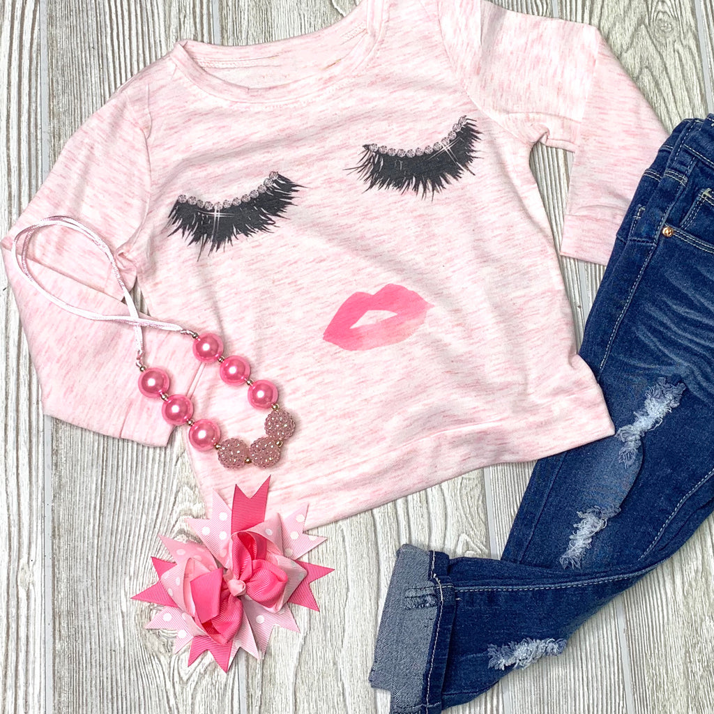 Lashes - Girls Top