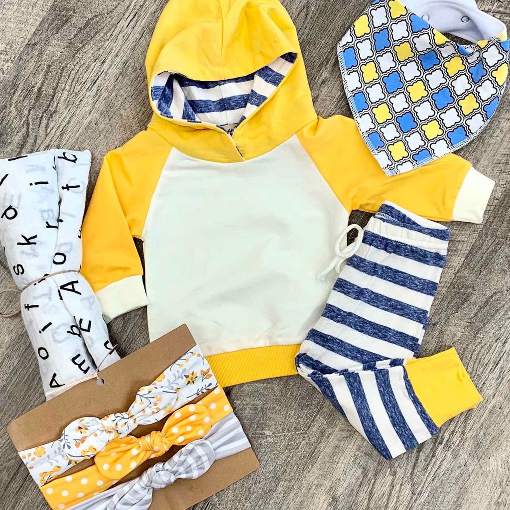 Lucky Lemon 2pc Outfit Set For Baby
