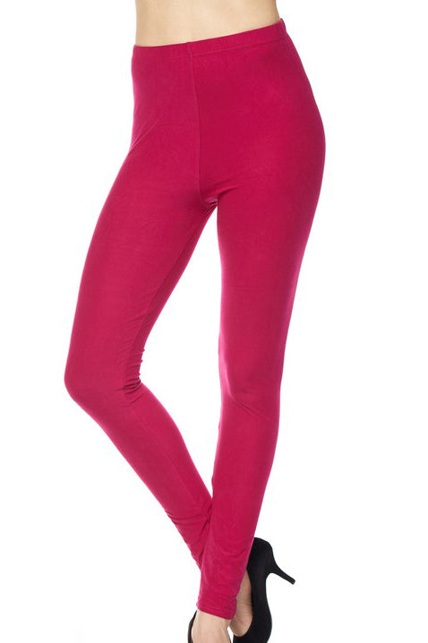 "Magenta Legging 1"" Waistband - Women"