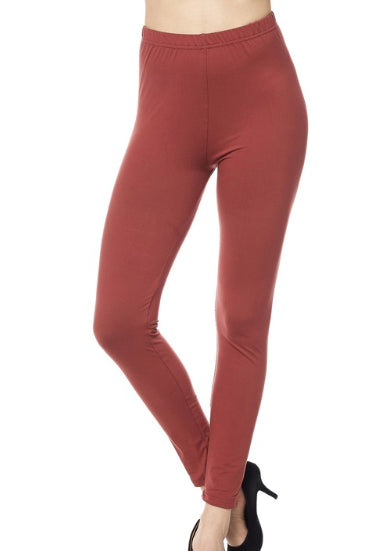 "Marsala Legging 1"" Waistband - Women"