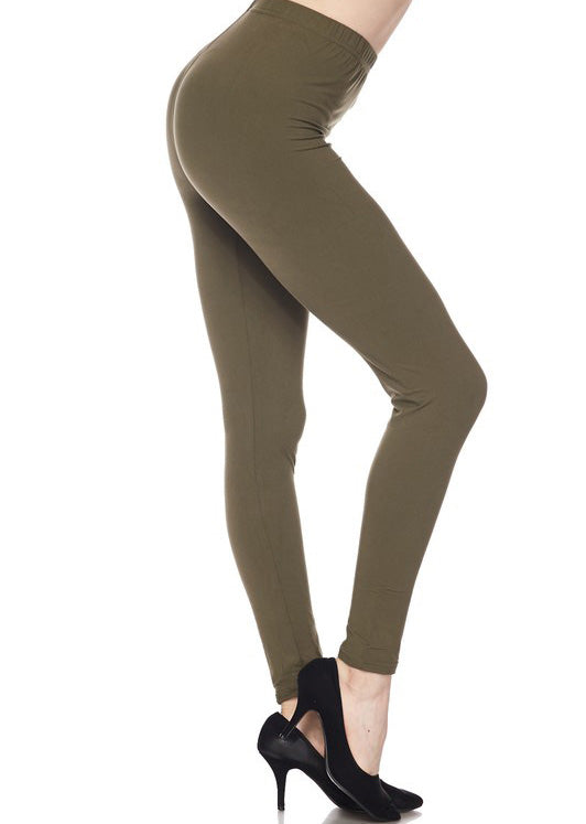 "Olive Legging 1"" Waistband - Women"