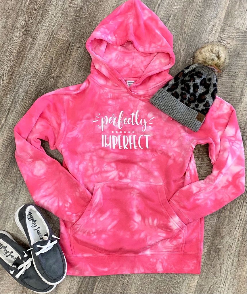 Perfectly Imperfect Tie Dye Hoodie