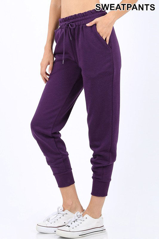 Purple Joggers For Women
