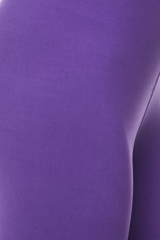 "Purple Essential Capri 1"" Waistband - Women"
