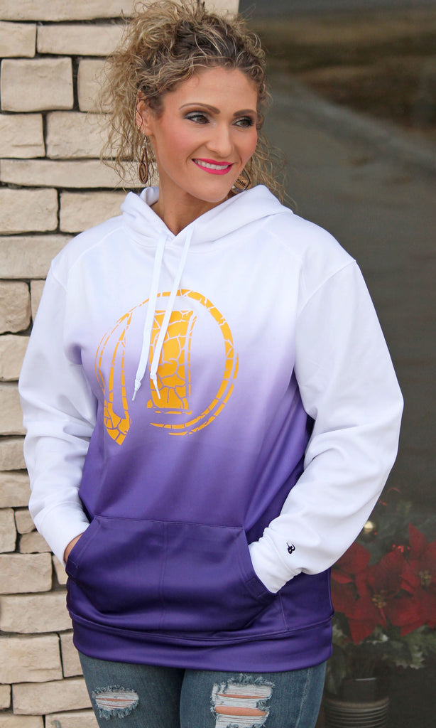 Purple Ombre Indianola Sweatshirt - Youth & Adult